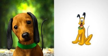 An artist has rethought our childhood cartoon characters as real beings